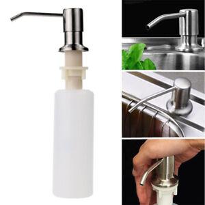 details about dish soap dispenser kitchen sink grade liquid dispenser pump 304 stainless steel