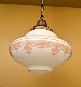 details about vintage lighting striking 1920s classical schoolhouse