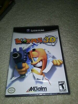 Worms 3D Nintendo GameCube Game Factory Sealed NEW ...