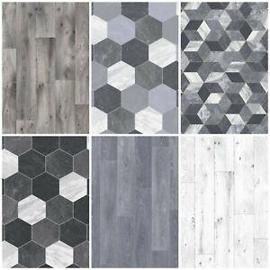 details sur heavy feltback qualite coussin sol vinyle plancher gris cuisine salle de bain lino afficher le titre d origine