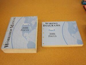 2006 Ford Focus service shop dealer wiring diagram repair