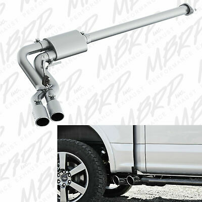 mbrp cat back side exit exhaust system fits 2015 2020 ford f150 5 0l v8 coyote ebay