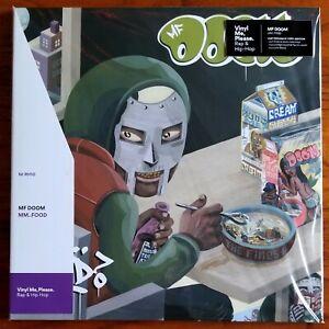 details about mf doom mm food green white vinyl me please vmp stencil obi new sealed oop