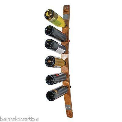 1 4 wine barrel head wine bottle rack