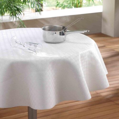 protege table pvc sous nappe ronde diametre 140 cm