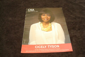 CICELY TYSON 2020 congrats ad for Peabody Career ...