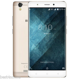 "5.0"" Blackview A8 3G Smartphone Android 5.1 Quad Core MTK6580A 1G+8G Champagne"