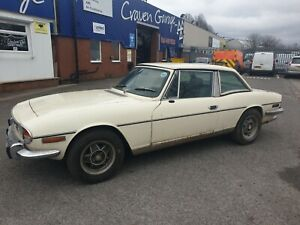 TRIUMPH STAG GOOD SOLID EASY RESTORATION PROJECT.