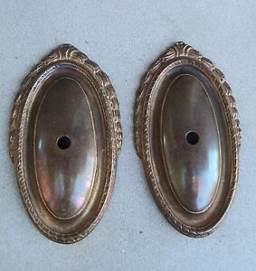 pair Sconce back plate backplate BRASS wall Chandelier ... on Wall Sconce Parts id=29356