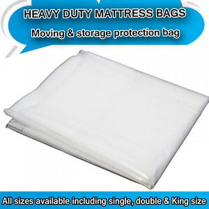 Image Is Loading Heavy Duty Removal Moving Mattress Polythene Cover Bag