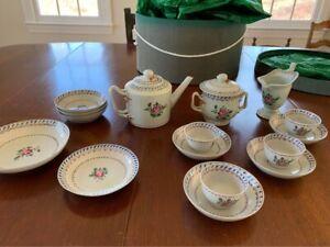 Antique Chinese Porcelain Tea Set Lot 18th Century Qianlong Period