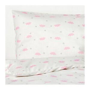 details sur ikea himmelsk 3 pieces linge de lit set pour lit bebe 100 coton housse de couette alskad 60x120 afficher le titre d origine