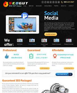 Social Marketing, SEO, Backlink Services Reseller Website