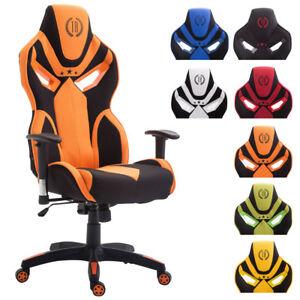 fauteuil bureau racing fangio tissu sport reglable ordinateur