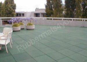 details about roof safe rubber safety tiles mats garden patio various colours free fixings