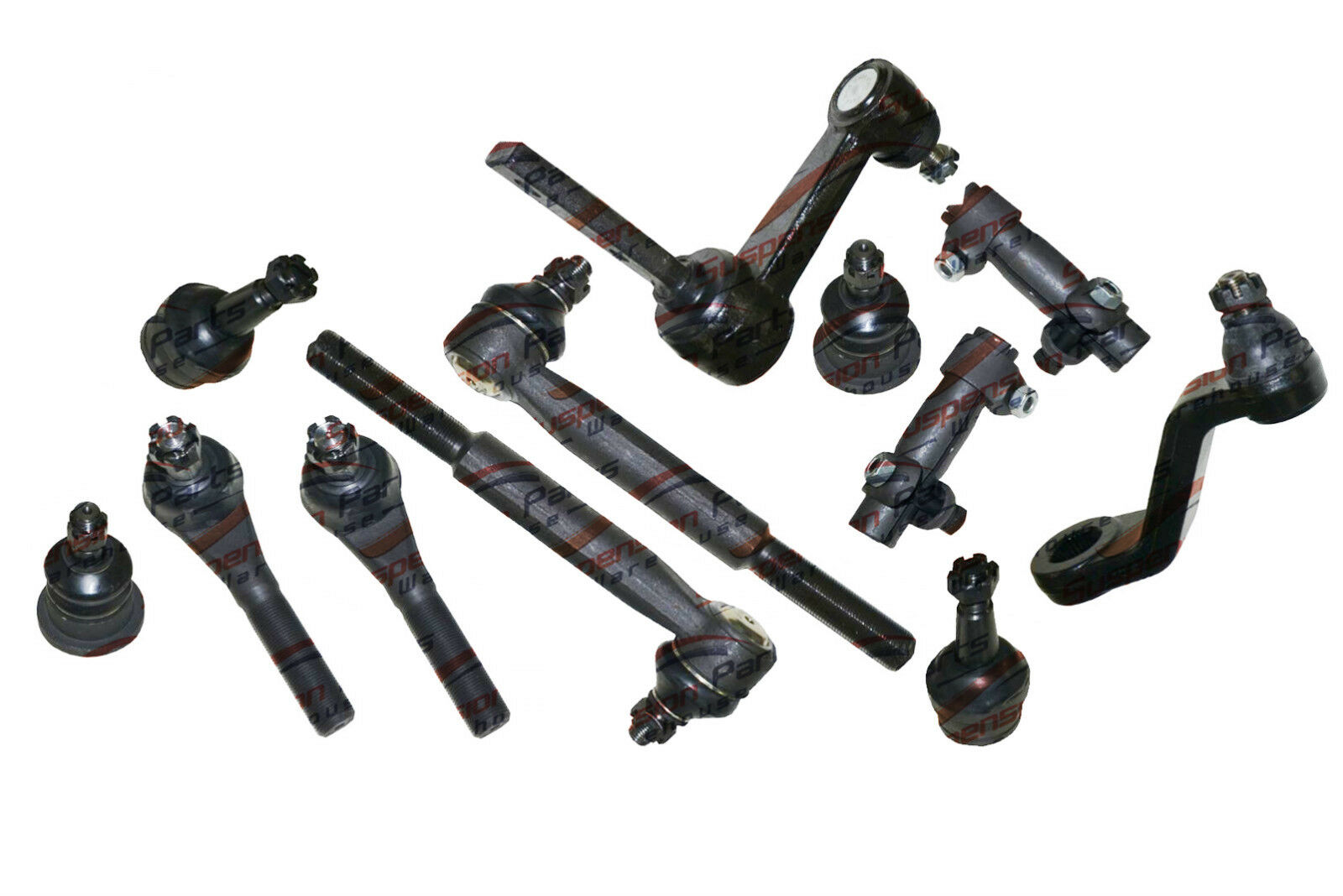 2wd Dodge Ram Front Steering Kit Pitman Idler Arms