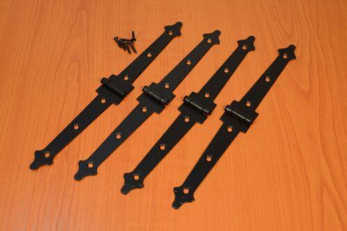 4x charnieres anciennes ferrures en restaurierungsshop meubles bandes symetrique 180 mm pristonnet com