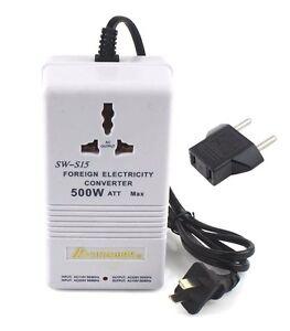 details sur transformateur de courant sw s15 220 a 110v et 110 220v 500w convertisseur