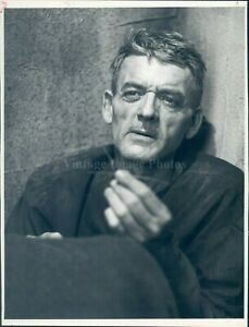 1981 Photo Hal Holbrook Actor When Hell was Session NBC ...