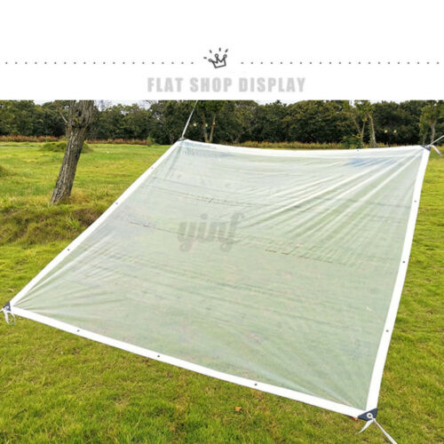 porch patio enclosure cover waterproof clear pe curtain tarp reusable tents canopies sporting goods