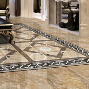 details about 5 x 500cm waterproof floor tiles line stickers diy wall decals home decor