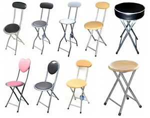 details sur childrens junior chaise pliante haute bar petit dejeuner tabourets cuisine accueil parti siege afficher le titre d origine