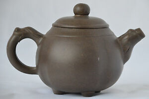 Chinese YiXing ZiSha Teapot with Mark (T072)