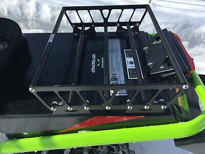 small universal snowmobile tunnel rack tunnel bag rack cargo rack un small ebay