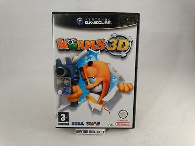 Worms 3d Nintendo Gamecube and Wii PAL original complete ...