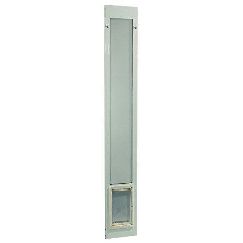patio panel pet door dog cat sliding glass aluminum large flap exterior doggie dog supplies dog doors flaps