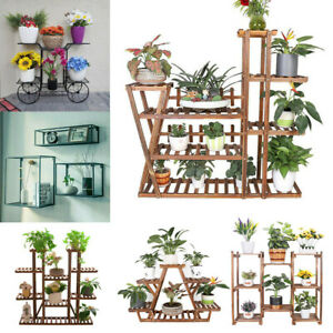 details about wall metal wire shelves flower plant pot stand display shelf patio deck decor