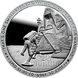2019 Apollo 11 Series - 50th Anniversary 1oz Silver Coin ...