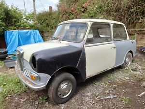 Classic Wolseley Hornet mini, 1969 project car