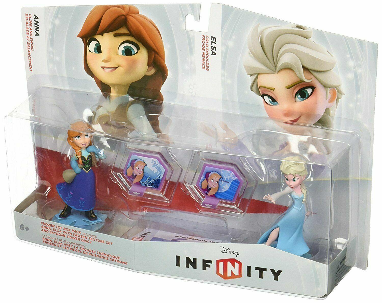 disney infinity frozen anna elsa toybox playset ps3 xbox 360 wii u 3ds