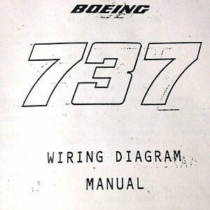 Boeing 73725A Airframe Wiring Diagram Manual | eBay