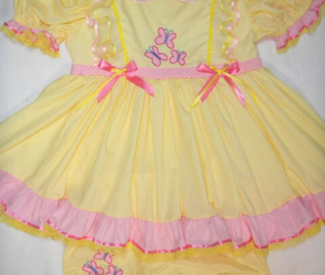 My Little Pony Fluttershy Dress Set New Pant A Loney Adult Baby Toddler