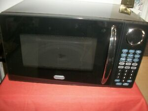 details about sunbeam microwave oven 900 watts sgb8901 0 9 cubic feet black