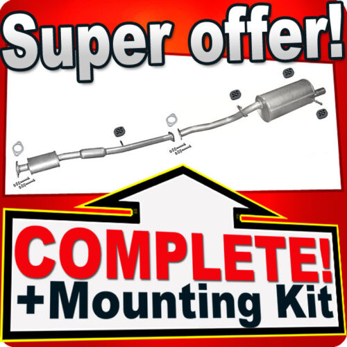 car parts subaru forester 2 0 sg 92kw 2002 2008 silencer exhaust system 858 homeclass