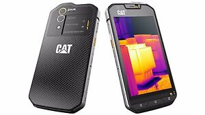CATERPILLAR CAT S60 Dual Sim Black 32GB 4GB RAM 13MP Waterproof Phone By FedEx