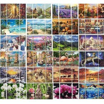 Malen nach Zahlen~Schipper~Triptychon 50x80, Lifestyle,  Afrika...Malvorlagen Set | eBay