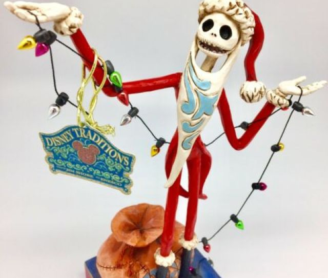 Santa Jack Nightmare Before Christmas Jim Shore Disney Traditions Figurine