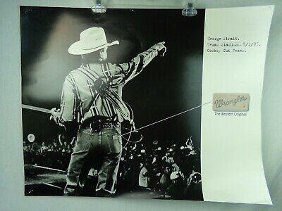 george strait promo poster advertisement for wrangler concert texas stadium 1995 ebay