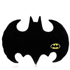 details about batman logo bat shaped pillow dc comics superheroes brand new
