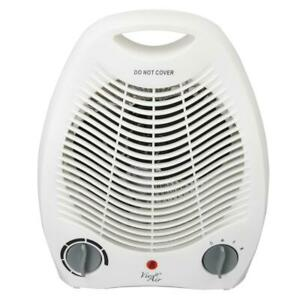 Electric Portable Fan Heater Adjustable Thermostat Non ... on Indoor Non Electric Heaters id=50468
