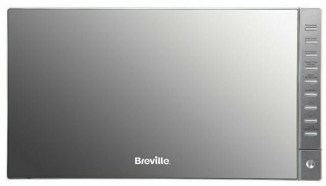 breville brmc2516 25l 900w countertop combination microwave oven with grill silver