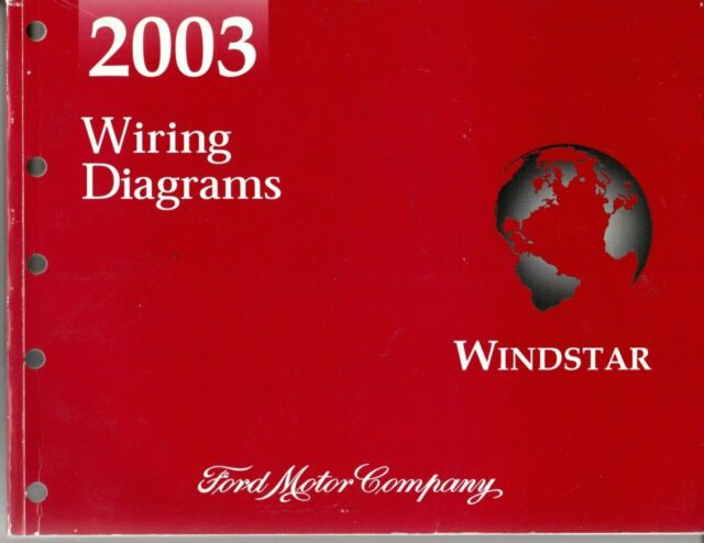 2003 ford windstar official oem wiring diagrams manual pg414 fcs1225503