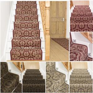 Runrug Stair Runner Carpet For Stairs Non Slip Long Wide Runners Bloom Ebay