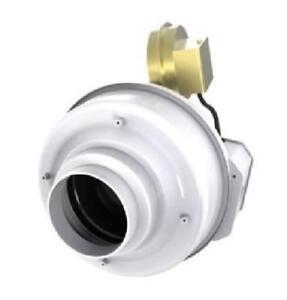 details about fantech dbf 110 dryer booster fan 4 duct 167 cfm