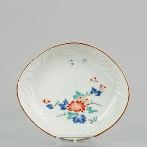 Antique 17/18th c Kakiemon Flower Japanese Porcelain Dish Japan Quality ...