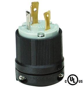 Rack Pdu Input Power Locking Twist Lock Plug L5 30p Male